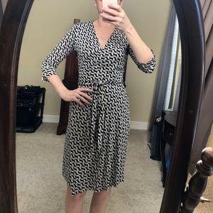 Classic Diane Von Furstenberg silk wrap dress